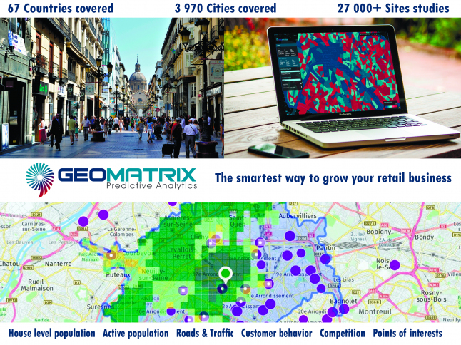 Geomatrix predictive analytics