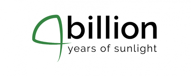 4billion - years of sunlight